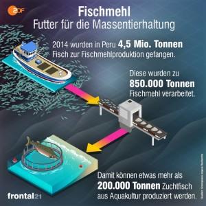 Fischmehl-Fischzucht